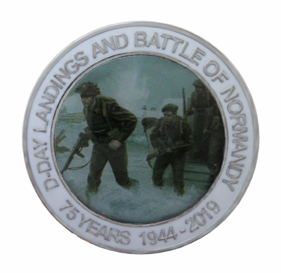 D-Day Landings & Battle of Normandy 75th Anniversary 1944 to 2019 Coin - Boxed